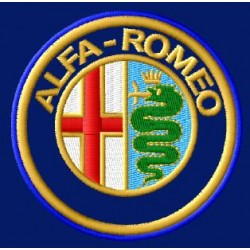 ALFA ROMEO 2  Medidas 8 x 8cm